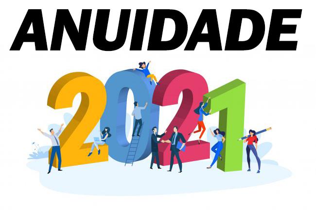 Comunicado: Anuidade 2021
