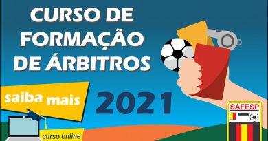 Curso de formação de árbitros 2021 (online)